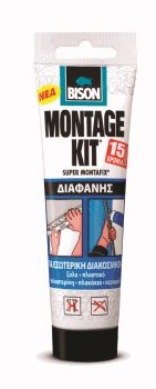 SUPER MONTAFIX TRANSPARENT 150g