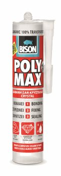 POLYMAX ΔΙΑΦΑΝΗΣ CRYSTAL CLEAR 300gr (280ml)