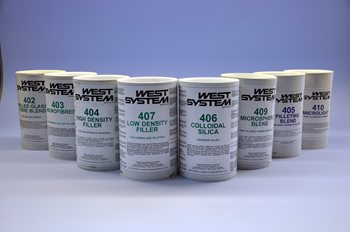 WEST LOW DENSITY FILLER 407/0.15 KG.