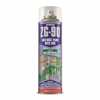 ZG-90 500ML SPRAY GREEN RAL 6010