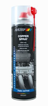SPRAY ΜΟΤΙΡ 090301 COPPER SPRAY  500 ML