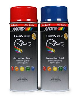 SPRAY CRAFTS MOTIP 696022  RAL 9006