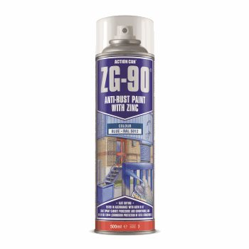 ZG-90 500ML SPRAY BLUE RAL 5012